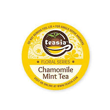 Teasia All Natural Chamomile Mint Tea 20 Compatible KCup Capsules Pods For Keurig Brewers Check Out The Image By Visiting Link