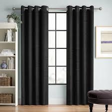 gardinen vorhänge schwarz zum verlieben wayfair de