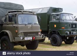 100 All Wheel Drive Trucks British Army Bedford And East German IFA W50
