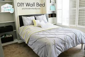 diy wall bed for 150