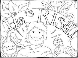 Full Image For Easter Coloring Pages Free Kids Bible Jesus
