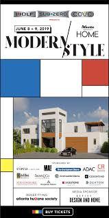 100 Modern Architecture Magazine Atlanta S HOME Style Showhome
