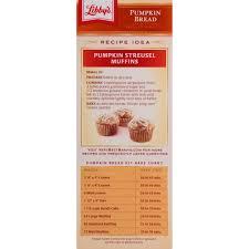 Libbys Pumpkin Bread Recipe Cranberry by Libby U0027s Pumpkin Bread Kit With Icing 56 1 Oz Walmart Com