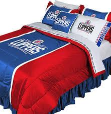 nba la clippers bedding set basketball comforter sheets