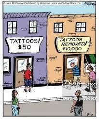 Tattoo Removal Cartoon 1 Of 24