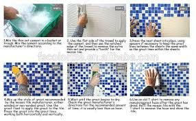 Thinset For Glass Mosaic Tile by Factory Ice Mix Hand Paint Glass Mosaic Tile Tx022 Buy