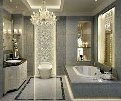 Luxury Bathroom Design Ideas Displaying Elegant Chandelier And Cream ... 14 Ideas For Modernstyle Bathrooms 25 Best Modern Luxe Bathroom With Design Tiles Elegant Kitchen And Home Apartment Designs Exciting How To Create Harmony In Your Tips Small With Bathtub Interior Decorating New Bathroom Designs Decorations Redesign Designer Elegant Master Remodel Tour 65 Master For Amazing Homes 80 Gallery Of Stylish Large Wonderful Pictures Of Remodels Collection