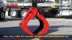 Used Grapple Trucks For Sale - YouTube