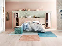 schlafzimmer bodenbeläge bettumrandungen teppiche vinyl