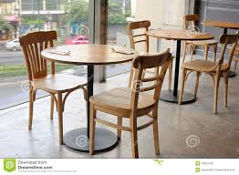 Wooden Chair And Table In Cafe Near Glass Wall Stock Image ... Restaurant Fniture In Alaide Tables And Chairs Cafe Fniture Projects Harrows Nz Stackable Caf Widest Range 2 Years Warranty Nextrend Western Fast Food Cafe Chairs Negoating Tables 35x Colourful Gecko Shell Ding Newtown Powys Stock Photo 24 Round Metal Inoutdoor Table Set With Due Bistro Chair Table Brunner Uk Pink Pool Design For Cafes Modern Background