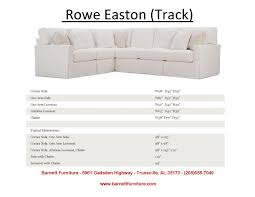 Rowe Nantucket Sofa With Chaise by Barnett Furniture Slipcover Sofas Sectionals Chair And Ottoman