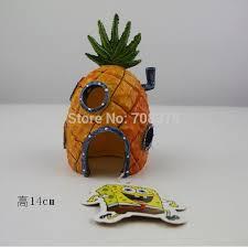 Spongebob Aquarium Decor Set by New 3pc Set Spongebob Pineapple House U0026 Squidward Easter Island