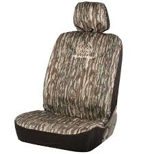 Realtree Floor Mats Mint by Realtree Exclusive Original Camo Low Back Bucket Seat Cover