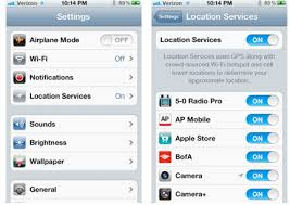 Location Based Services LBS for iPhone and iPad