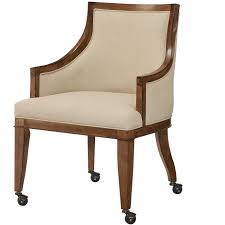 american drew grove point upholstered dining arm chair with
