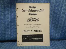 1940-1953 Ford Car & Truck Parts Original Master Cross Reference ... 1979 Ford F 150 Truck Wiring Explore Schematic Diagram Tractorpartscatalog Dennis Carpenter Restoration Parts 2600 Elegant Oem Steering Wheel Discounted All Manuals At Books4carscom Distributor Wire Data 1964 Ford F100 V8 Pick Up Truck Classic American 197379 Master And Accessory Catalog 1500 Raptor Is Live Page 33 F150 Forum Directory Index Trucks1962 Online 1963 63 Manual 100 250 350 Pickup Diesel Obsolete Ford Lmc Ozdereinfo