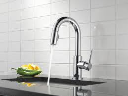 Delta Trinsic Kitchen Faucet Black by 100 The Kitchen Collection The Kitchen Collection