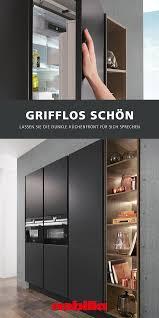 grifflose küchenfront nobilia küchen fronten küche