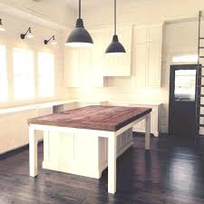 Kitchen Islands With Table Island Farmhouse Other Angle