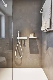 beton ciré wasserfester putz für das fugenlose bad dusche