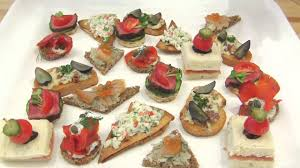 what does canape learn about canapés hors d œuvre