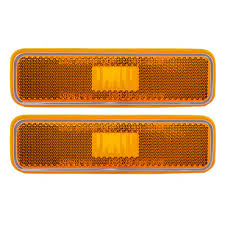 Dodge Plymouth Pickup Truck SUV Set Of Side Park Signal Marker ... Buy 10 Pcs Tmh 25 Red Light Lens Super Flux Side Led 5x264146cl Amber Led Cab Roof Marker Running Lights Clear For Atomicdsobingcabmarkightsfordtruckamberlens Chicken Lightsmarker Lights Lets See Some Pics Of Em Page 2 Truck Marker Youtube 5xteardrop Yellow Top Clearance For Szhen Idun Photoelectric Technology Co Ltd Truck Bragan Specific Hand Polished Stainless Steel Under Bumper Low 12v 24v Lamp Car Trailer Shop 100 Waterproof Universal 2011 Ford F150 Fx4 Raptor Inspired Grille