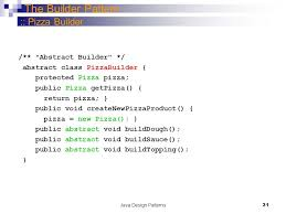 Decorator Pattern Java Pizza by Java Design Patterns 1 Department Of Computer Science And Software