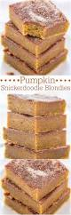 Panera Pumpkin Spice Latte Release Date by Pumpkin Snickerdoodle Blondies Averie Cooks