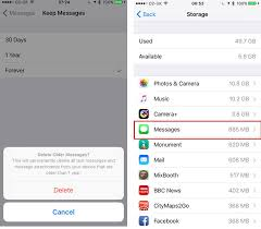 How to delete all old messages from iPhone and save storage space