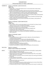 Medical Scientific Liaison Resume Samples