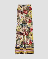Cartner Christmas Tree Farm by Image 8 Of Striped And Floral Print Trousers From Zara Fashion