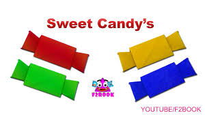 Sugar Candy Paper Folding Craft For Childrens