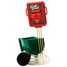 Swivel Straight Christmas Tree Stand by Tree Nanny Christmas Tree Watering Device Stk605 The Home Depot