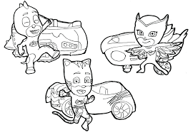 Pj Mask Coloring Pages Masks To Download And Print For Free Colouring Pdf