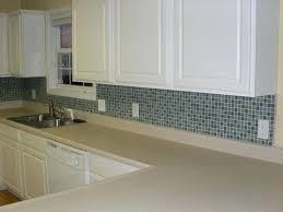 wavy glass tile backsplash glass tile ideas yellow glass tile