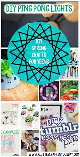 DIY Spring Crafts For Teens