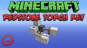 Flashing Redstone Lamp Minecraft by Redstone Torch Key