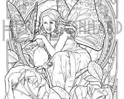 Herb Leonhard Adult Coloring Page Fae Nouveau Book Digital