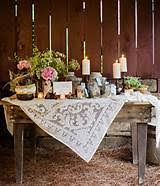 Rustic Wedding Cake Table Decorations Arch Ideas