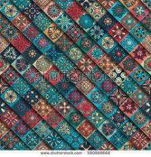 Vintage Decorative Elements Oriental Pattern Vector Illustration Islam Arabic Indian Turkish Pakistan C