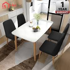 LIKE BUG: Parfait Creative Dining Table Set Packages With Hevea ... Minimal Ding Rooms That Offer An Invigorating New Look New York Herman Miller Eames Chair Ding Room Modern With Ceiling Eatin Kitchen With Rustic Round Table Midcentury Chairs Hgtv Senarai Harga Ff 100cm Viera Solid Wood 4 Shop Vecelo Home Chair Sets Legs Set Of Eames Youtube Biefeld Besuchen Sie Pro Office Vor Ort Room Progress Antique Meets Stevie Storck Modern Fniture Uk Canada For Style By Stang 5pcs Tempered Glass Top And Pvc Leather Saarinen Design Within Reach Buy Midcentury Online At