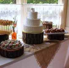 Rustic Wedding Cake Table Cakes Sweets And Pie Pops On Ideas