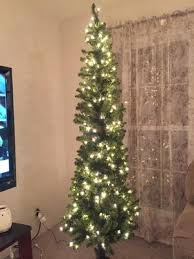 Pre Lit Pencil Christmas Tree Walmart by Holiday Time Pre Lit 7 U0027 Brinkley Pine Artificial Christmas Tree