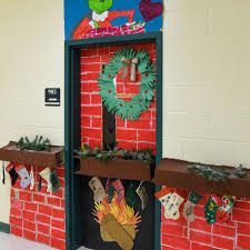 Grinch Visits Whooville Or Nelson Middle School Hallway As Part