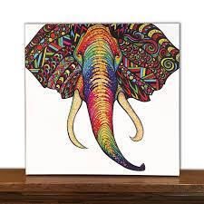 Animal Canvas Art Epic Elephant Wall