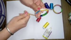OPTIMUM USE OF WASTE MATERIAL AND HOME ART CRAFT