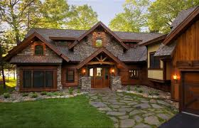 Rustic Homes With Stone Fanciful 3 Story Open Mountain House Floor Plan Future And Cabin Home