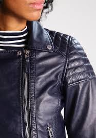oakwood leather jacket navy blue women clothing jackets catalogo