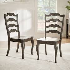INSPIRE Q Eleanor French Ladder Back Wood Dining Chair (Set Of 2) By ... Antique Set Of 12 French Louis Xv Style Oak Ladder Back Kitchen Six 1940s Ding Chairs Room Chair Metal Oak Ladder Back Chairs Avaceroclub Fniture Classics Solid Wood Wayfair 10 Rush Seat White Painted Country Shabby Chic Cottage In Theodore Alexander Essential Ta Farmstead A 8 Nc152 Bernhardt Woven