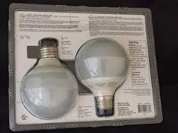 ecosmart soft white light bulbs g25 cfl compact fluorescent 40